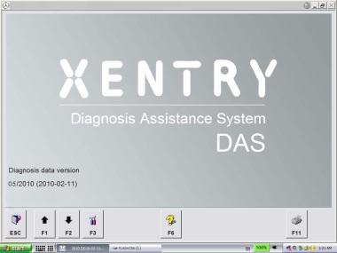 Xentry DAS  Mercedes software installation