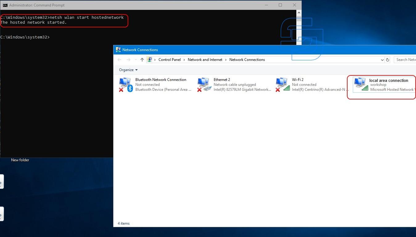 Configure wifi connection SD Connect-Windows 10, 8